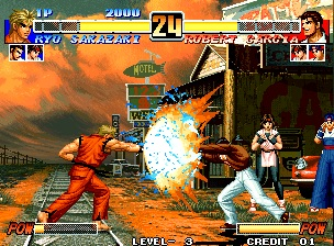 King para fighters iso 2002 of the psp download